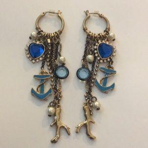 Betsey Johnson Chandelier Earrings